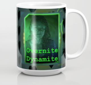 Overnite Dynamite Mug on Society6